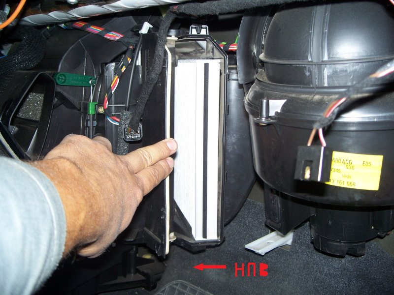Как поменять салонный фильтр на опель астра h