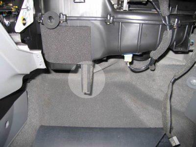 Замена салонного фильтра Chevrolet Lacetti
