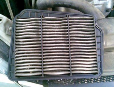 Старый воздушный фильтр