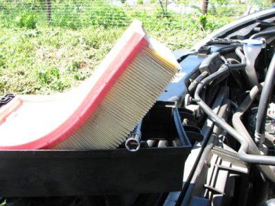 Замена воздушного фильтра на Кашкай
