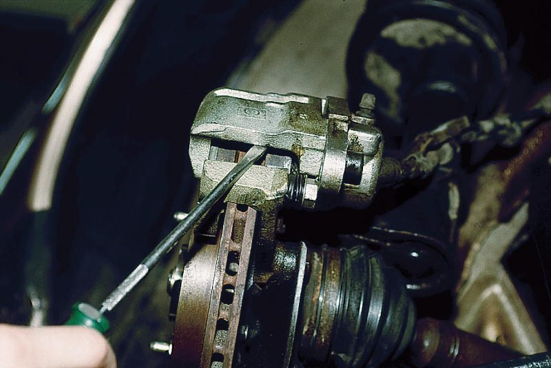Как заменить тормозные диски ваз 2112