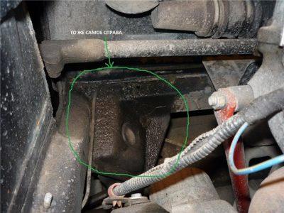 На картинке изображен отопительный из отопителя антифриз