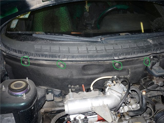 Фото №1 - замена радиатора печки на ВАЗ 2110