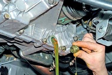 Замена масло двигателя ваз 2110