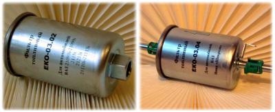 Образец топливного фильтра