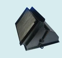 Адаптер салонного фильтра с установленным в него фильтром (нового образца) от ВАЗ-2110