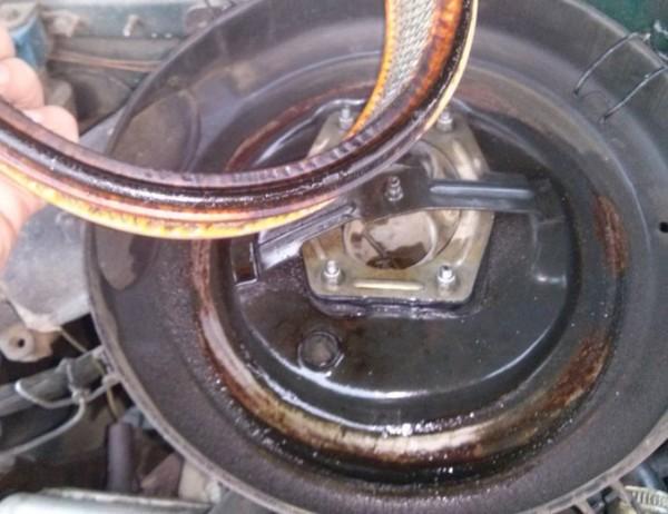 ваз 2109 масло в воздушном фильтре: